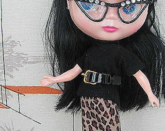 Sweater Girl Skirt and Top set for Blythe by RETROS