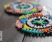 Lerato (mini)- South African Seed Bead Earrings