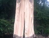 Vintage 90s Free Size Hippie/Gypsy Pants