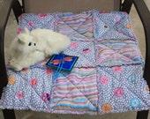 Cat Blanket, Cat Quilt, Blanket For Cats. Cat Accessories, Catnip Blanket, Small Dog Mat, Pet Mat, Travel Pet Mat, Crate Mat, Luxury Cat Bed