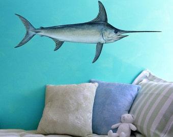Large Swordfish  Vinyl Wall Decal