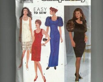 Simplicity Misses' /Miss Petite Dress Pattern 7001