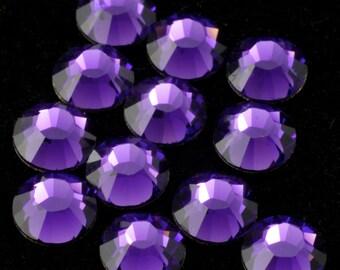 Swarovski 2058 Purple Velvet Flatback Rhinestones
