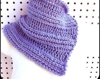Crochet Scarf Pattern, Infinity Scarf Pattern, Cowl Scarf Pattern, SPLIT Crochet Cowl Pattern, Infinity Scarf Pattern, Spring Scarf Pattern