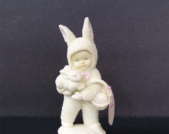 """Dept 56 Snowbunnies Figurine """"Ill Love You Forever"""""""