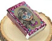 Sugar Skull Girl Matchbox Magnet