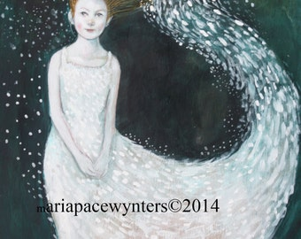 Snow Princess-ACEO  Open edition reproduction by Maria Pace-Wynters