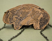 Fox tattoo necklace