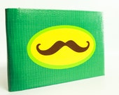 Moustache Duct Tape Wallet - by jDUCT