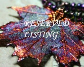 Reserved Listing for HF
