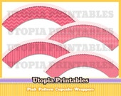 Pink Patterns Cupcake Wrappers