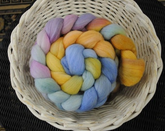 Hand Painted Merino Wool Roving 4.0