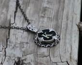 Letter K  Vintage Typewriter Key Wrap Necklace