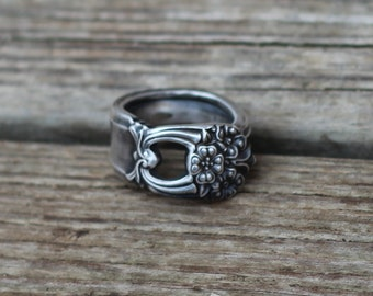 Size 5 Spoon Ring Eternally Yours
