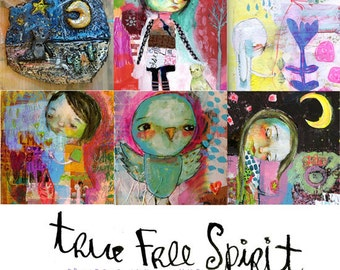 True Free Spirit online workshop - by Mindy Lacefield