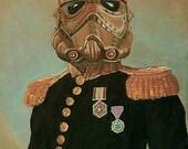 Czar Wars Steampunk Stormtrooper  Napoleonic Tsar  Canvas Art  Print Storm trooper