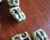 10 C Spacer beads jewelry making earring supplies etc Artsy FACE