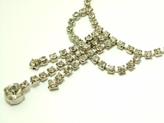 Vintage estate jewelry 1950s art deco glam chrome for Art deco costume jewelry