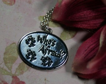 Who's Afraid of the…. Fairy Tale Charm Necklace Perfect for Layering Choice of Lengths
