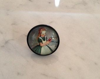 Alice in Wonderland Ring