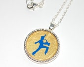 Marching Band pendant necklace RESERVED for Katie