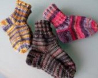 Knitspot Oh Baby! Sock Pattern