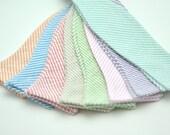 Men's Seersucker Bow Tie, Men's Bowtie, Wedding Bowtie, Seersucker Bowtie, Freestyle Bowtie, Self Tie Bow Tie