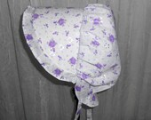 Sunbonnet Floral Eyelet Lilac Missy 6-10 years 16.25USD