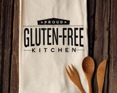 Proud Gluten-free Kitchen - Organic Cotton Floursack Tea Towel - Eco-Friendly