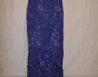 vintage 90s  long maxi skirt         hippy hippie boho bohemian gypsy    womens women ladies clothing clothes