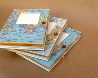 Versatile Travel Journal with Pockets and Envelopes - Personalized and Made to Order for You - Most Excellent Travel Gift