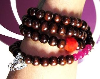 SALE - Handmade Mala - Prayer Beads