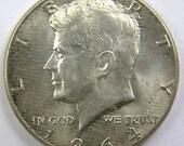 1964 P Kennedy Half Dollar AU