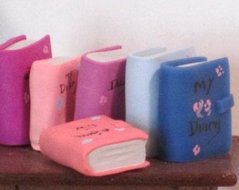 A miniature diary book