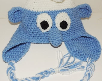 Crochet Pattern for Toddler Smurf Hat