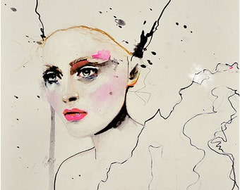 Paolo Roversi Series 3 - Fashion Illustration Art Print