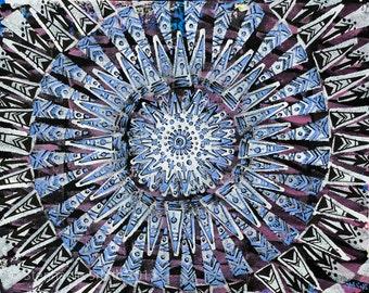 Original Expressive Mandala Art: Seeing Things Clearly