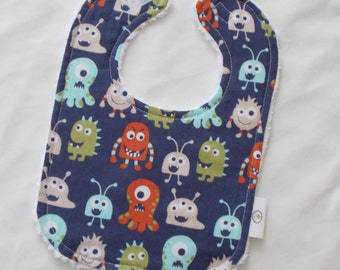 Monsters Chenille Boutique Bib - SALE