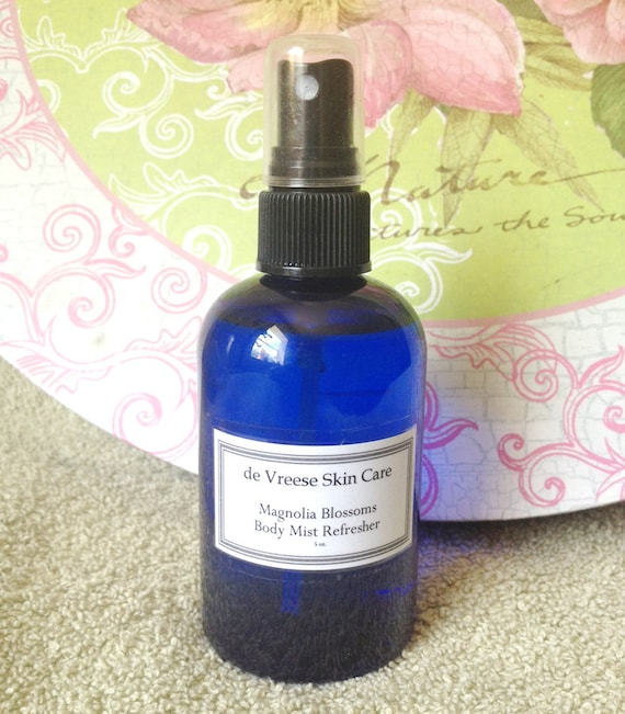 Magnolia Blossoms - Sultry southern summer nights - body, room or linen spritz with jojoba