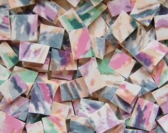 Mosaic Tiles---Watercolor Palette--100 Tiles-- SALE