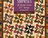 "On Sale 15 Percent Off Scrap-Basket Surprises 18 Quilts from 2 1/2"" Strips Kim Brackett Quilting Book"
