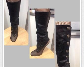 Leather Leg warmer