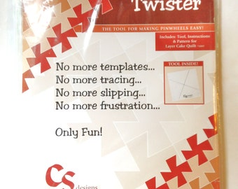 Twister Tool for Making Quilting Pinwheels