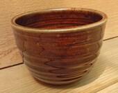 Brown Stoneware Bowl Stoneware Bowl Ceramic Bowl