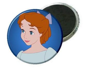 "Magnet - Peter Pan Wendy 2.25"" Magnet"