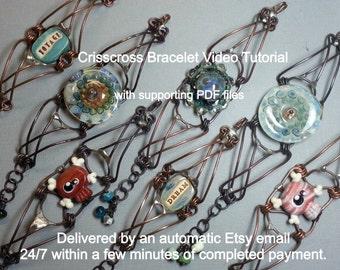 Crisscross Bracelet Video Tutorial