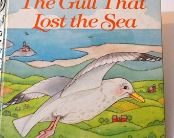 Vintage Children's Book The Gull That Lost the Sea Little Golden Book