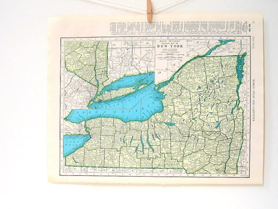 Items similar to 1946 new york map new mexico map world atlas items similar to 1946 new york map new mexico map world atlas book page vintage map 11 x 14 on etsy gumiabroncs Image collections