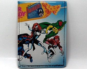 Sewn Comic Book Wallet - Spider Woman, Vision, more