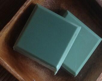 Eucalyptus & Spearmint - Shaving Soap with Clay, Honey and Goats Milk